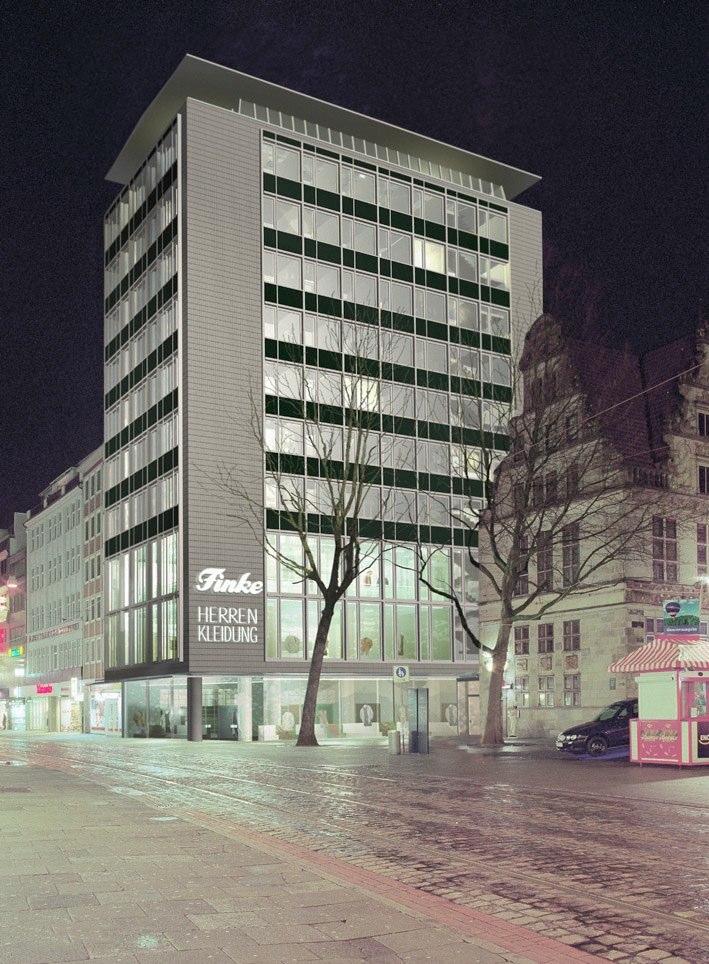 Finke Hochhaus Bremen, Obernstraße