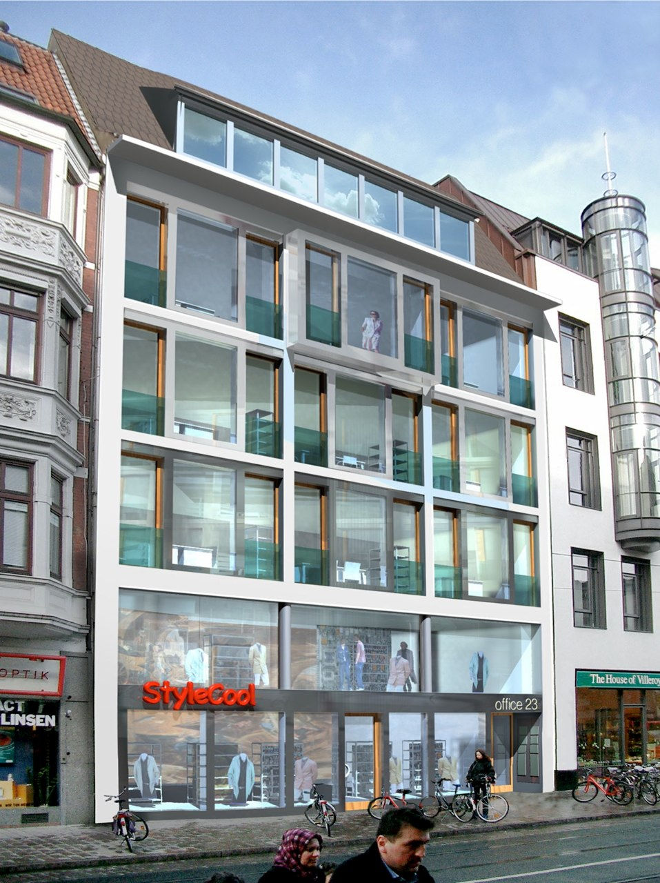 Umbau / Sanierung Bibliothek Bremen