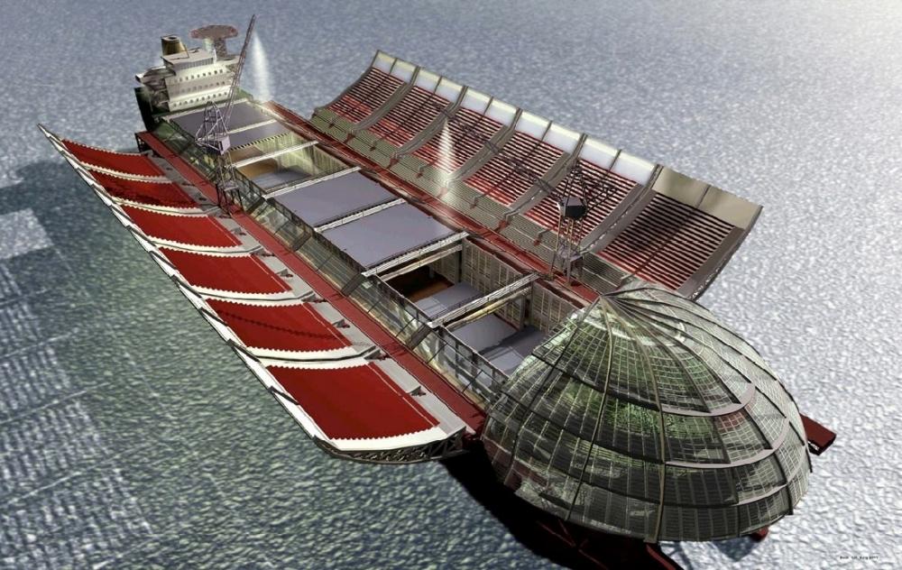 Entwurf für den Umbau eines ehemaligen Schwimmdocks der AG Weser (Bremen) zu einem multifunktionalen Veranstaltungszentrum