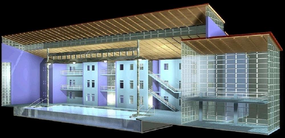 Entwurf für ein Wellnessbad in Bremen