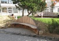 """""""Muschelbank"""" Onnen-Visser-Platz, Norderney"""