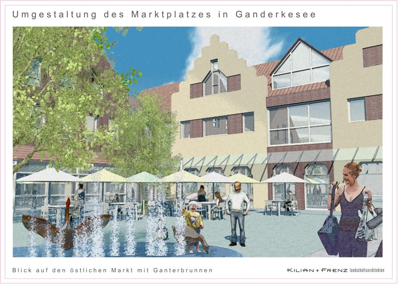 Marktplatz Ganderkesee, Wettbewerb